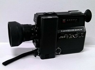 Canon Canosound 514XL-S Super 8 Film Movie Camera - Selling AS IS