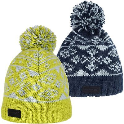 698c7563fe8 44% OFF Regatta Sleet Fleece Pom Pom Knit Beanie Mens Sports Outdoor Bobble  Hat