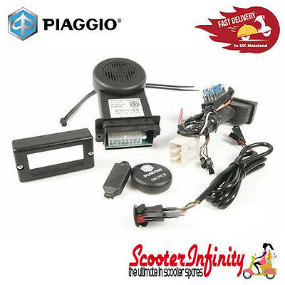 Alarm System plug&play Genuine PIAGGIO Vespa GT/GTS/GTV 2014 onwards