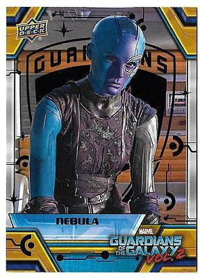 2017 Marvel Guardians of the Galaxy Volume 2 PURPLE Foil #87 Nebula #18/99
