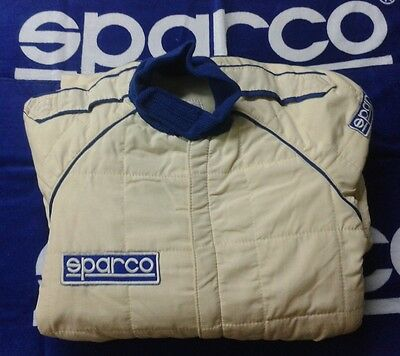 Racing Suit Expired Fia Size 48 White - Vintage Style Historic Cars Nomex Sparco