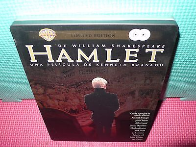 hamlet - steelbook - branagh - shakespeare - 2 dvds -