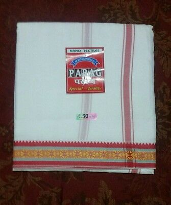 Men's Dhoti, 4.5 Meters  Indian Fashion, Fast delivery (ONLY 1 INSTOCK)