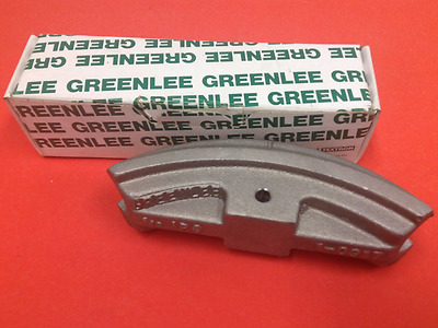 "Greenlee - P/N: 10917 - 1/2"" Shoe - Conduit Bender - NEW"