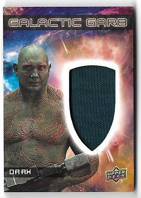 2017  Marvel Guardians of the Galaxy Volume 2 Galactic Garb SM-11 Drax