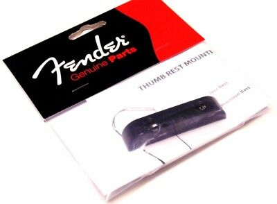 Genuine Fender Thumb-Rest Precision /& Jazz Bass Mounting Diagram P J 0992036000