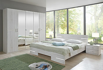Qmax 'City' Range German Made Bedroom Furniture. White Oak.