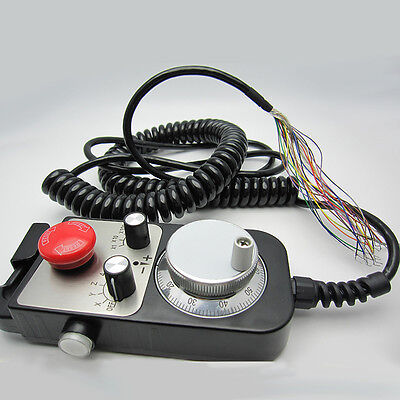 CNC Electronic handwheel pulse generator manual handheld Encoder 12V