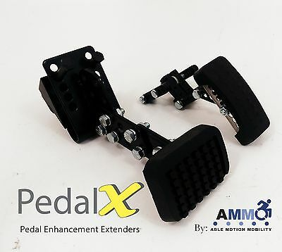 Driving Aids ABLE MOTION MOBILITY Pedal Extenders Extensions Handicap Mobility
