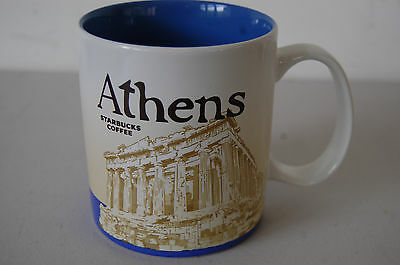 Starbucks City Mug 2014 Athens Global Icon