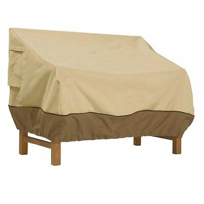 CLAC-70992-Classic Accessories Veranda Patio Bench/Loveseat/Sofa Cover - Durabl