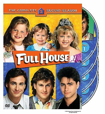 Full House - The Complete Second (2) Season - 4 Disc DVD Set - Brand New Sealed