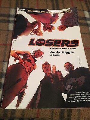 Losers: Vol 1&2 by Andy Diggle (Paperback, 2010)   9781401227333