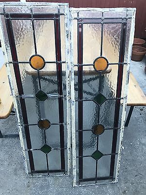 Stained Glass Leaded Door Panels