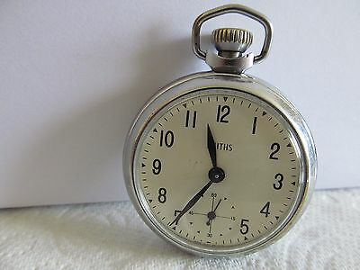 1969 vintage smiths pocket watch in good condition and working