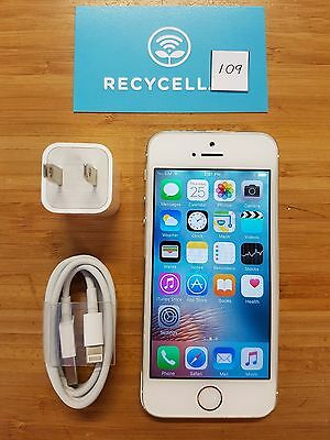 Apple iPhone 5s - A1533  - 16GB - White gold -  BELL Mobility -  Smartphone