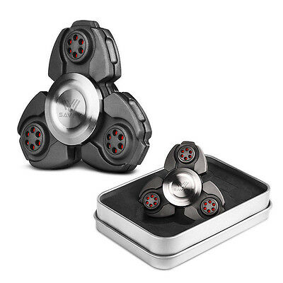 NEW-2017 CKF EDC Hand Fidget Spinner Titanium Alloy Finger Gyroscope Focus Toy