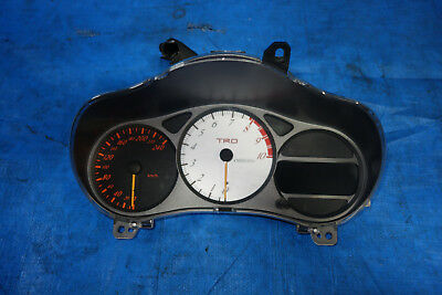 JDM Toyota Celica TRD M Sport Cluster Speedometer M/T Manual 2000-2005 GT GTS