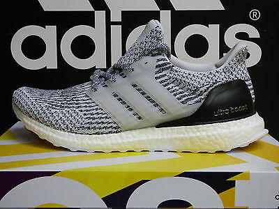 NEW AUTHENTIC ADIDAS UltraBoost 3.0 Running Shoes Oreo White Size 8 US S80636