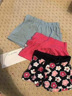 Girls Shorts M&S and Primark Bundle 18-24 Months