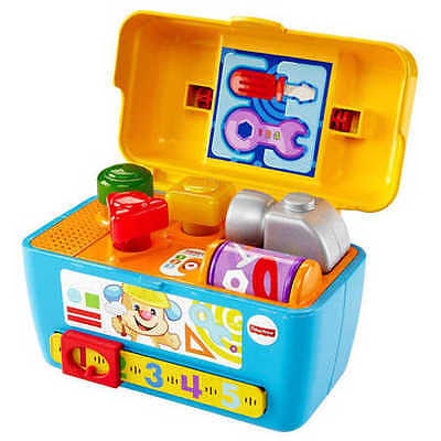NEW Fisher-Price Laugh & Learn Smart Stages Toolbox