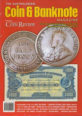 The Australasian Coin and Banknote Magazine, July 2008, Volume 11, Number 6