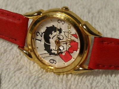 Fantasma BETTY BOOP Wrist Watch Japan mvt 1995 pyramid raise glass