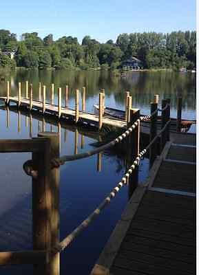 Romantic Break - Lakeside Luxury Cabin / Lodge sleeps up to 4 guests with boat