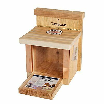 WOOD-SQF3-Woodlink Squirrel Munch Box Feeder