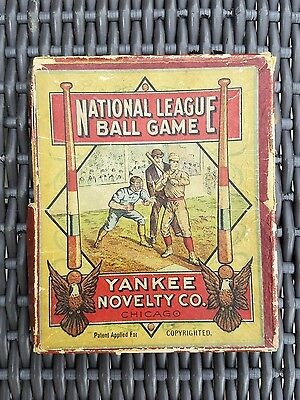 "**Rare** 1910 Yankee Novelty Co. ""National League Ball Game"" in Original Box"