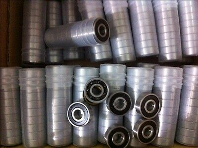 1 stainless 608 2RS SS bearing with Si3N4 > ceramic balls. ABEC 9