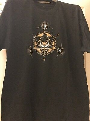 Fields Of The Nephilim Official T Shirt XL Earthbound 2013 Tour