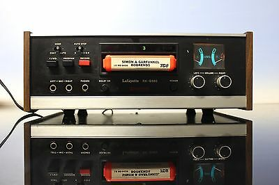 Great Lafayette RK-D985 8 Track Tape Player/Recorder Dolby System Made in Japan