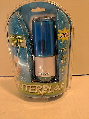 Sealed INTERPLAK Compact Rechargeable Water Jet Pik Flosser Conair WJ2CS