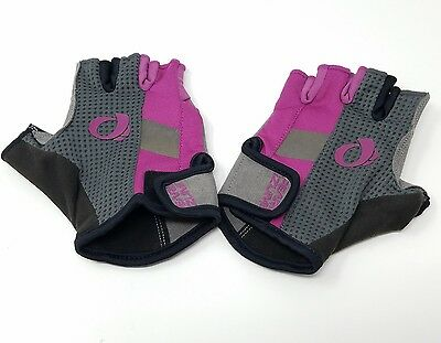 Pearl Izumi Women's Elite Gel Bike Cycling Gloves Pink Grey - Small