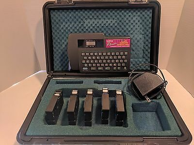 Brother PT 15 Label With Case Power Cord And 5 Extra Cartridges