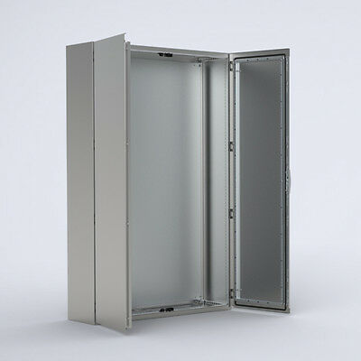 Stainless Electrical Cabinet Floor standing Enclosure - 2000 x 1600 x 400