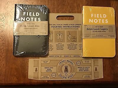 Field Notes Drink Local Lagers And Ales With Carrier (FNC-20)