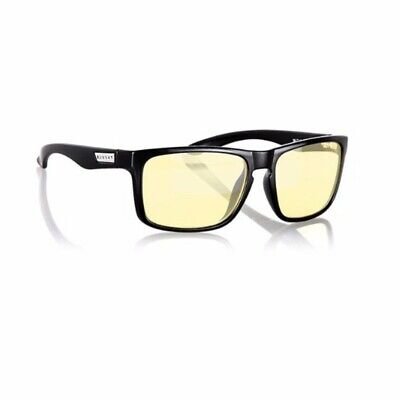 Gunnar Intercept Amber Onyx Indoor Digital Eyewear PC Gaming Glasses Computer