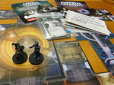 Well Painted FFG Star Wars Imperial Assault  BT-1 & 0-0-0 Villain Pack