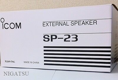 NEW ICOM SP-23 External speaker for IC-756/746//718/910 from JAPAN
