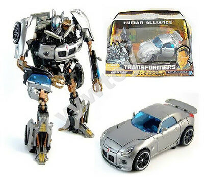 Transformers Human Alliance Autobot Jazz 6 inches Toy Action Figure New in Box