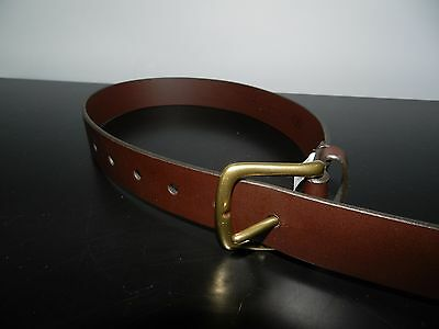 GAP Brown Child's Leather Belt Size Small