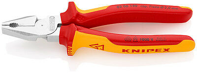 KNIPEX VDE 02 06 180 power combination pliers 180 mm