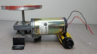 Buehler Heavy Duty DC Right Angle Gear head Motor, tested with 12V & 24 VDC