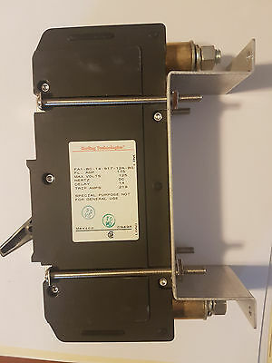 6 x CARLING TECHNOLOGIES FA1-B0-917-12A-BG  175 amp 125 v DC DISCONNECT BREAKER