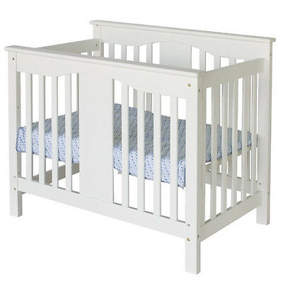 Annabelle 2-in-1 Mini Crib and Twin Bed, White - M5998W