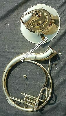 """Sousaphone 22"""" Bell Brand New In Brass Polish + Case+ Free Shipping (New Offer)"""