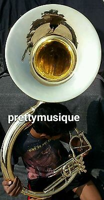 "Sousaphone 22"" Bell Brand New In Brass Polish + Case+ Free Shipping (New Offer)"