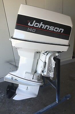 140hp JOHNSON OUTBOARD MOTOR (Will Freight Australia Wide.)
